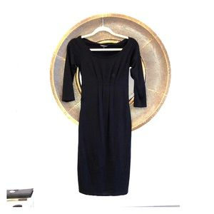 Isabella Oliver Black maternity dress
